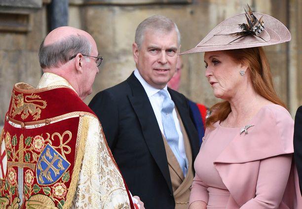 Prinssi Andrew ja Sarah Ferguson ovat erostaan huolimatta hyvissä väleissä.