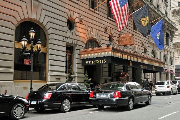 St. Regis Hotelin sviitistä näkee keskuspuistoon.