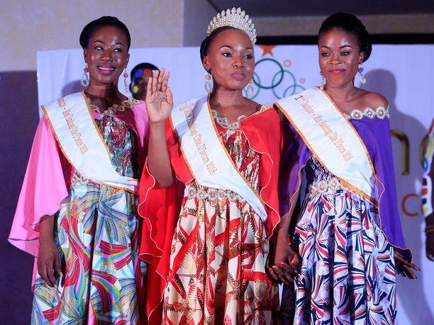 Miss Vamma -kilpailu järjestettiin Norsunluurannikolla ensimmäistä kertaa.