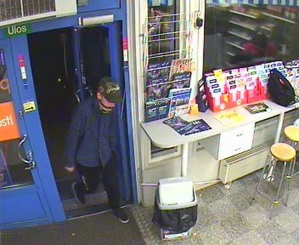 Höyhtyän R-Kioski ryöstettiin teräaseella uhaten 8.10. kello 19:05.