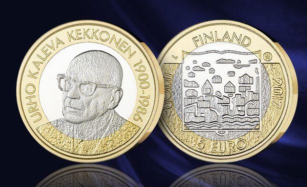 Kekkosen kunniaksi on julkaistu suomalaisia juhlarahoja vuosina 1975, 1981 ja 2017