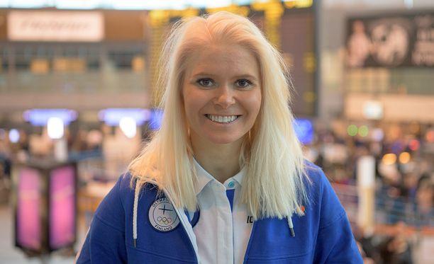 Mari Laukkanen lähti olympiamatkalle menestys mielessään.