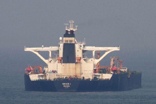 Iranilainen tankkeri Grace 1 otettiin haltuun Gibraltarissa 4. heinäkuuta.
