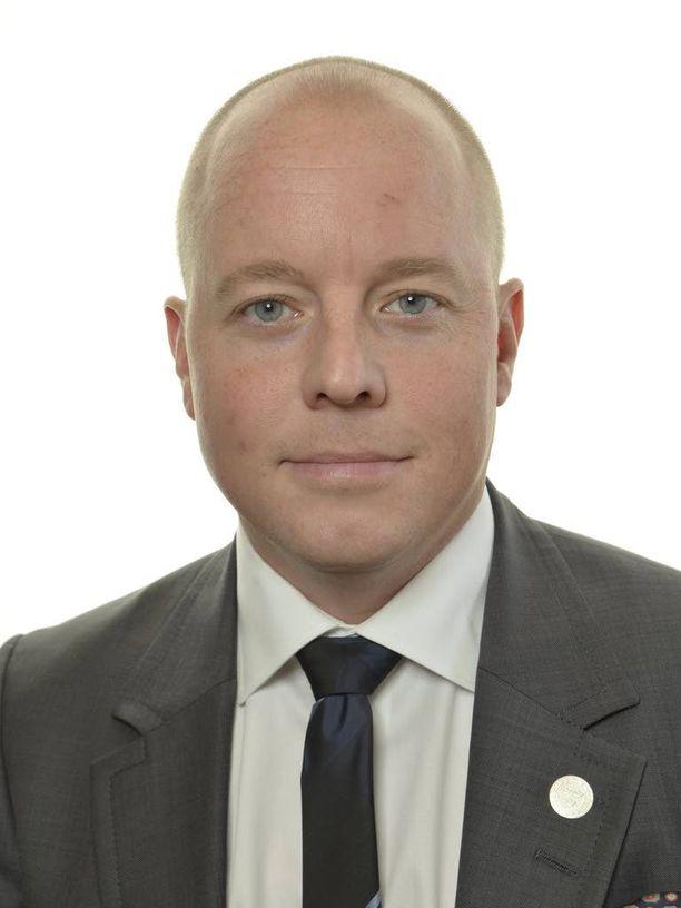 Björn Söder nousi parlamenttiin vuoden 2010 valtiopäivävaaleissa.