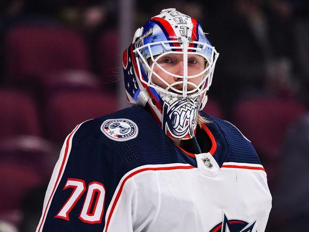 Joonas Korpisalo sai nimensä NHL:n ennätyskirjoihin.