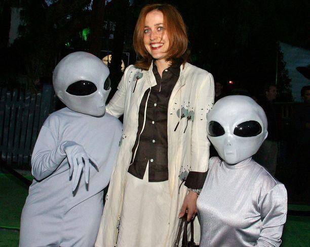 Gillian Anderson vuonna 2008.