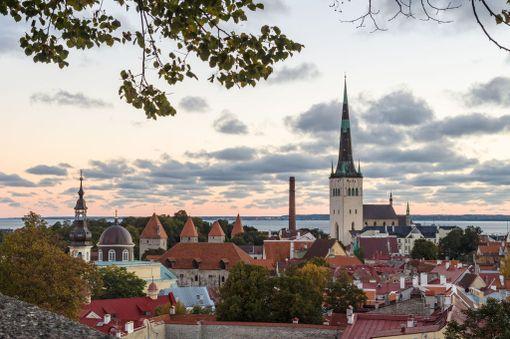 Aamuinen näkymä vanhaankaupunkiin.