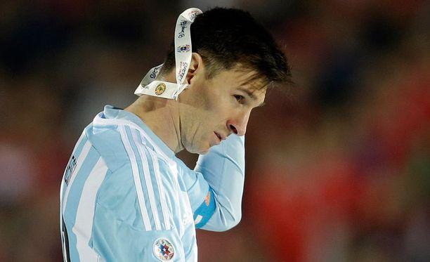 Leo Messin lauantai-ilta oli murheellinen.