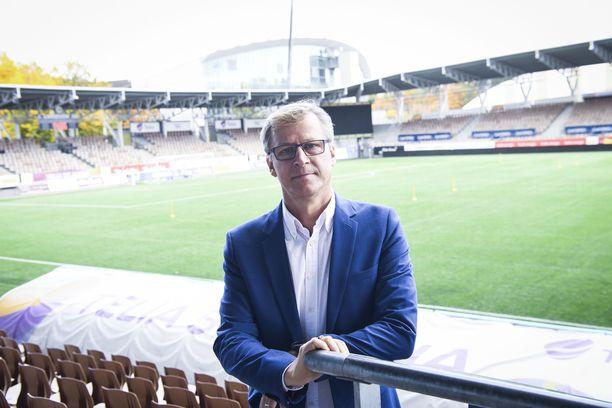 Markku Kanervasta julkaistiin kirja.