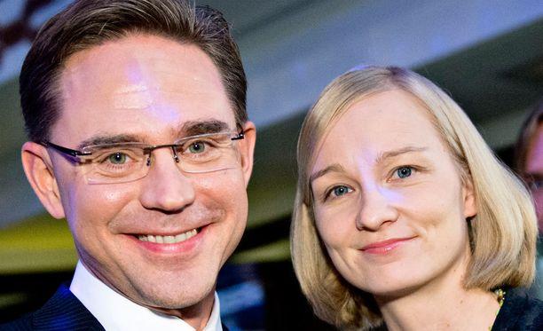 Jyrki ja Mervi Katainen.