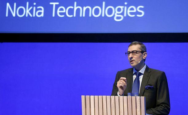 Rajeev Suri on toiminut Nokian toimitusjohtajana toukokuusta 2014 alkaen. Kuva helmikuulta 2016.