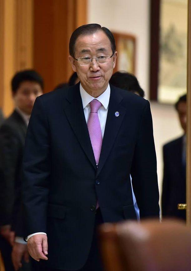 YK:n pääsihteerin Ban Ki-moonin vierailu Pohjois-Koreaan peruttiin viime tingassa.