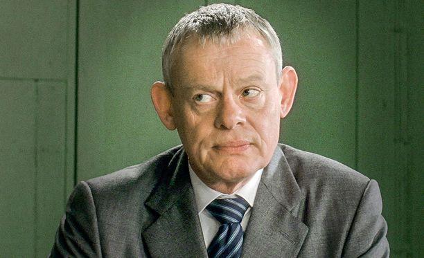 Martin Clunes on Doc Martin eli tohtori Ellingham.
