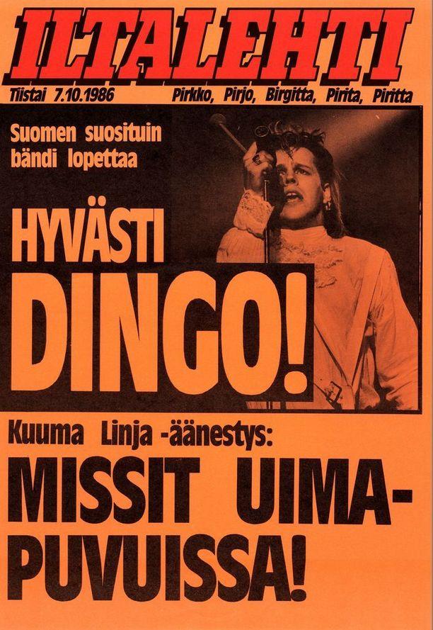 Tieto Dingon lopettamisesta rikkoi uutiskynnyksen kaikissa medioissa.