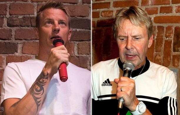 Kimi Räikkönen ja Matti Nykänen olivat ystävystyneet, he muun muassa lauloivat yhdessä karaokea.