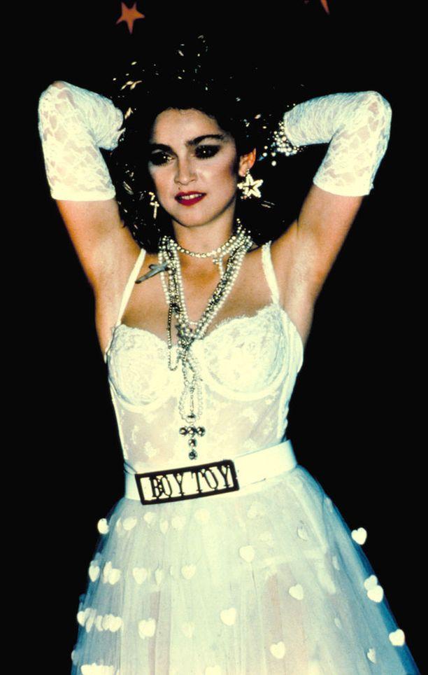 Madonna vuonna 1984.