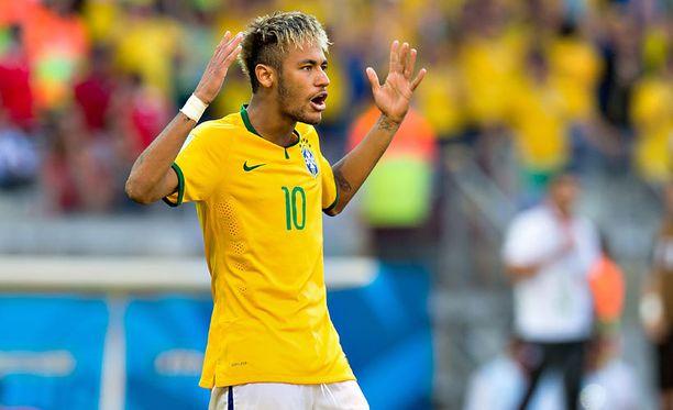 Brasilia tarvitsee Neymaria.