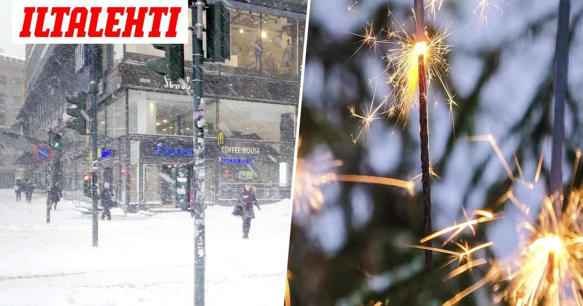 Etelä- ja Kaakkois-Suomeen luvassa runsaasti lunta – Tällainen on uudenvuodenaaton sää