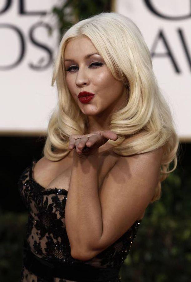 Christina Aguileran elämä on yhtä juhlaa.