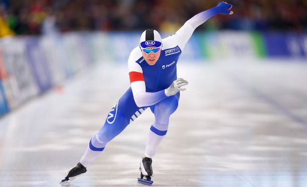 Mika Poutala luisteli uransa toiseksi parhaan 1000 metrin kilpailun Calgaryn maailmancupissa.