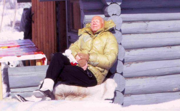 Tyrkön mukaan Kekkonen halusi näyttää terveeltä ja ruskettuneelta.