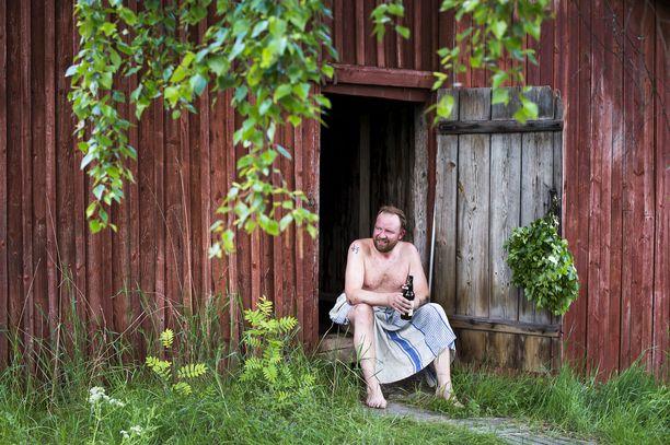 Kiireellä on taipumusta sulaa saunan lämmössä.