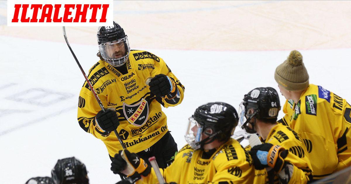 KalPa kellisti Kärpät, Ässien NHL-vahvistuksella mahtava ensi-ilta