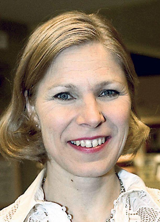 Marjo Matikainen-Kallström oli kokoomuksen ykkösnimi Espoosssa 2 534 äänellään.