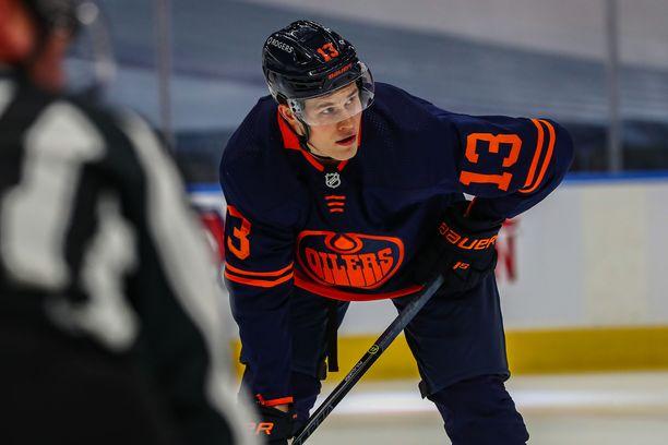 Jesse Puljujärvi jäi pisteittä jo toistamiseen Senatorsia vastaan.
