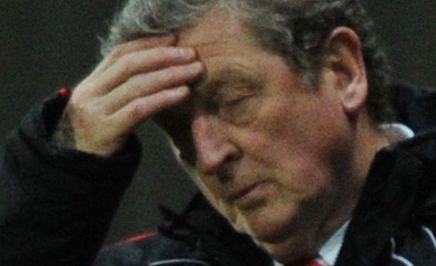 Roy Hodgsonilla ei pyyhi hyvin.