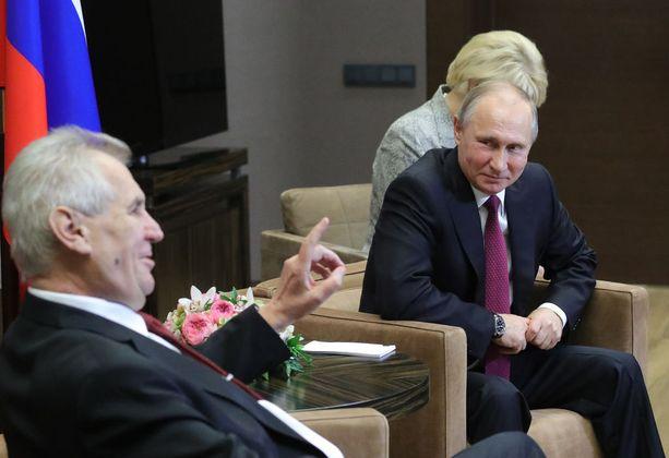 Zeman ja Venäjän presidentti Vladimir Putin tulevat hyvin toimeen.