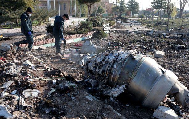 176 ihmistä kuoli viime viikolla, kun ohjus pudotti Teheranista Kiovaan matkalla olleen ukrainalaisen lentokoneen.