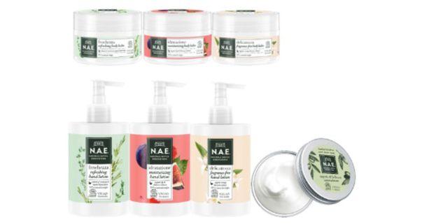 N.A.E.-brändin valikoimasta vedetään pois markkinoilta vartalovoiteet, käsivoiteet sekä universaalivoide.
