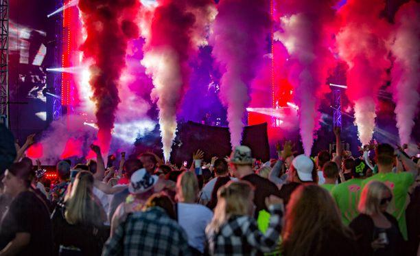 RMJ-festivaalin tunnelmaa vuodelta 2016.