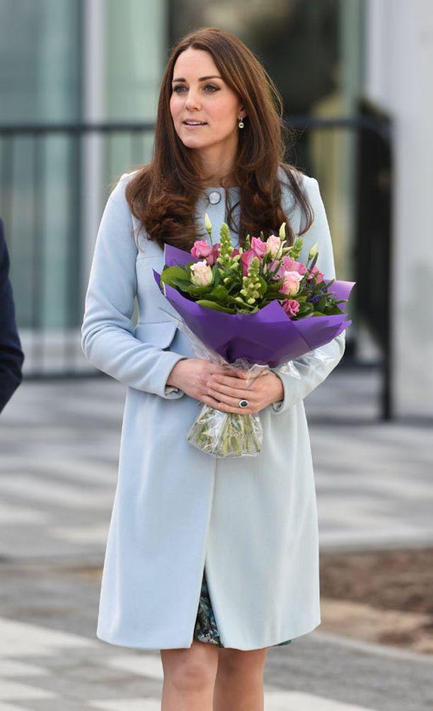 Kate suosi Séraphine-merkkiä myös Georgea odottaessaan.