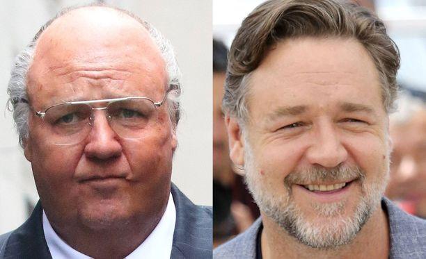 Tv-sarjan maskissa ero näyttelijän perusilmeeseen on kuin yöllä ja päivällä. Russell Crowe näyttää kuin eri ihmiseltä.