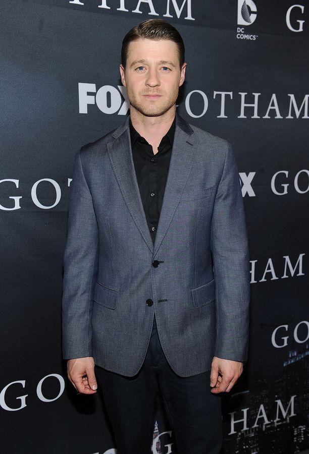 Ben McKenzie Gotham-sarjan tilaisuudessa keväällä.