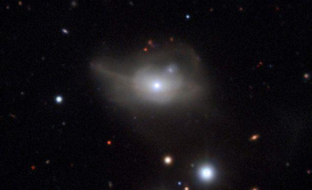 Musta aukko ja sen ydin. Kuvan julkaisi Euroopan eteläinen observatorio ESO 15. syyskuuta.