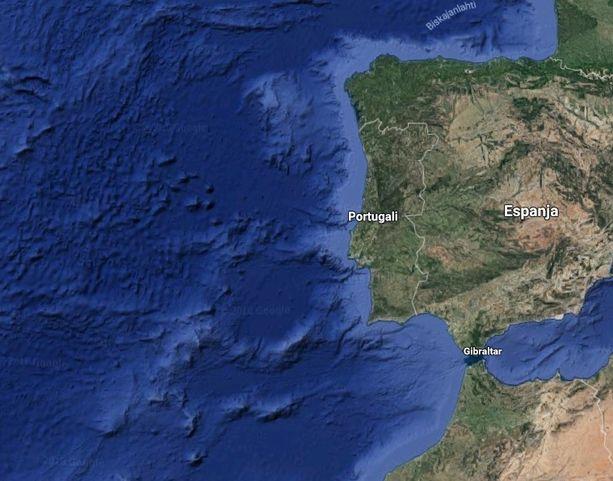 Hurrikaani Leslie etenee kohti Iberian niemimaata.