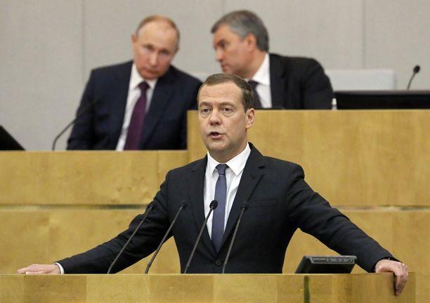 Dmitri Medvedev puhui duumassa ennen jatkopestiään pääministerinä.