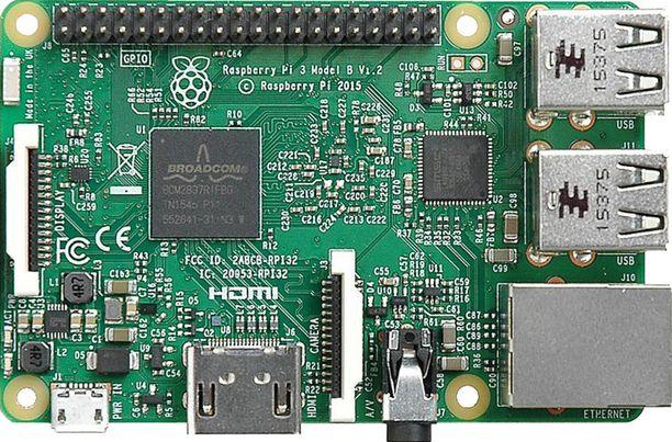 Raspberry Pi on harrastelijakäyttöön suunniteltu itseohjelmoitava kone.