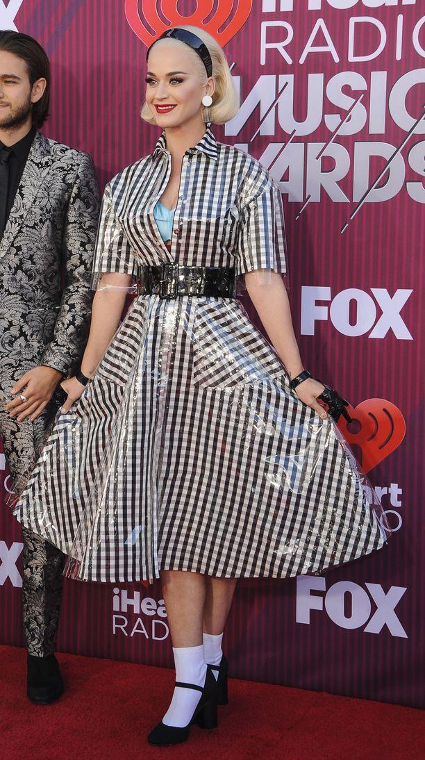 Katy Perry HeartRadio Music Awards -gaalassa maaliskuussa 2019.