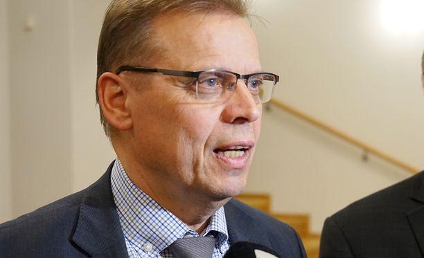- Vielä ei ole sovittu mistään yksityiskohdista, SAK:n puheenjohtaja Lauri Lyly sanoi ennen neuvotteluiden alkua. Arkistokuva.