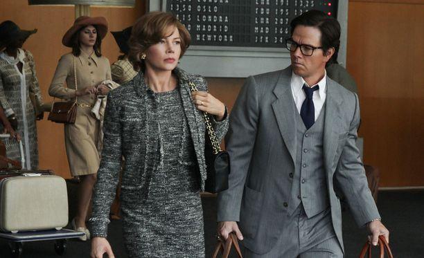 Michelle Williams ja Mark Wahlberg esiintyvät All the Money in the World -elokuvan pääosissa.