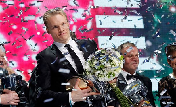 Iivo Niskanen valittiin Vuoden urheilijaksi 2017.