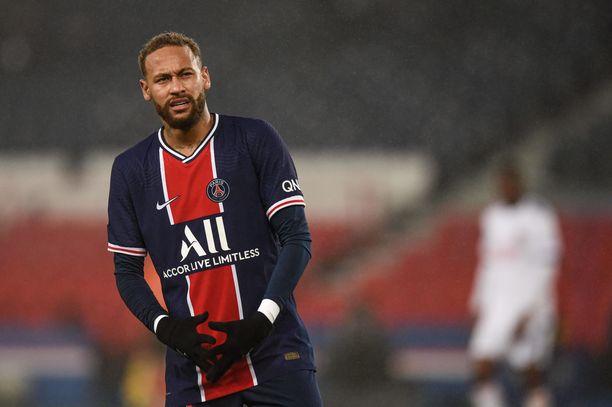 Neymar kielsi puhelimet juhlista.
