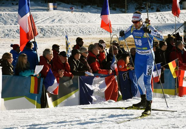 Olli Hiidensalo oli sijalla 90 perjantaina Sloveniassa maailmancupissa