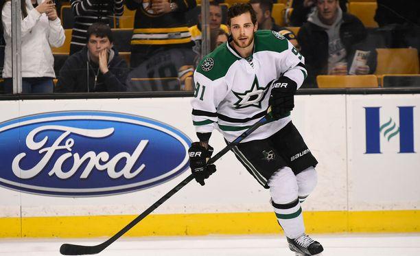 Tyler Seguin edustaa NHL-seura Dallas Starsia.