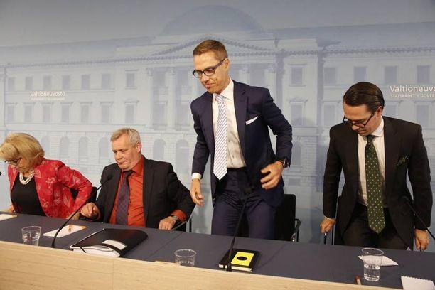 Pääministeri Alexander Stubbin (kok) hallitus otti demareiden vaatimuksesta käyttöön lapsivähennyksen.