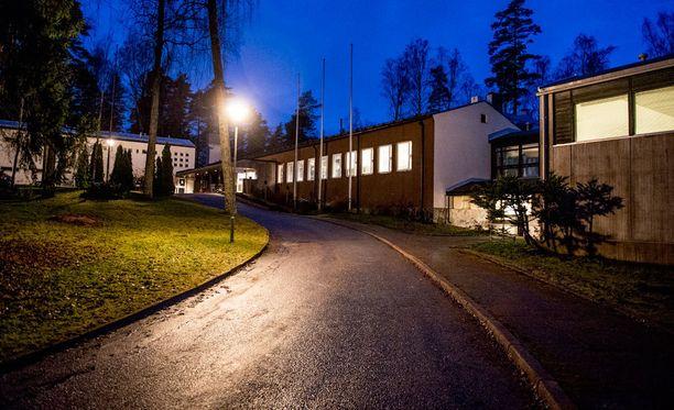 Siikajärven vastaanottokeskus.